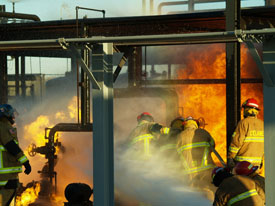 Industrial Firefighter Training