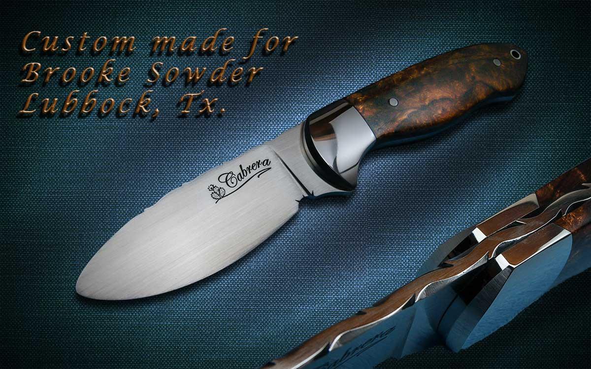 handmade custom knives customer photos